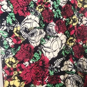 LulaRoe Womens Leggings TC2 Floral